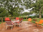 Savor a meal al fresco or simply enjoy the beautiful surroundings on the spacious deck during your stay at this...
