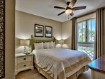 Guest room has a queen mattress with its own closet and dresser w/ great views!!