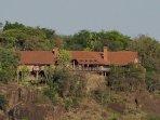 Kiota Safari House nestled into the wild heart of an African Eden.
