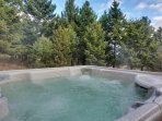 This family friendly home has everything you will need to feel right at home including a hot tub to soak in after a day...