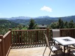 Perched on top of a mountain with spectacular views!