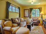 The upper level has a family room where your crew can do puzzles, play games or watch TV and movies after a day of...