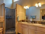 The master has a king size bed and its own private bathroom. The master bathroom includes a granite shower and a deep...