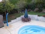 Solar Shower, Pool, Terrace BBQ, Plancha and Exterior Dining Area