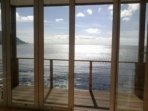 Beautiful sea views from the lounge a deck