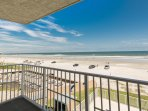 Take in the views of the entire north beach!