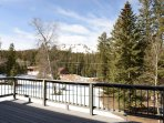 Deer Mountain - as seen from the deck on the Lodge. Breathtaking view no matter the season.