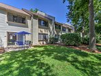 Relax and rejuvenate at this 2-bedroom, 2-bathroom Hilton Head vacation rental condo that's walking distance from...