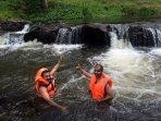 water-stream bath