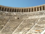The ancient theatre at Aspendos.