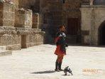 A Gladiator at Aspendos.