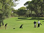 Golf at nearby Belek.