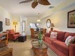 Paniolo Greens Resort Suite Living Area