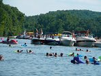 Lake of the Ozarks party.