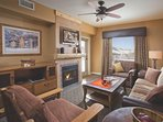 Wyndham Vacation Resorts Steamboat Springs Living Area