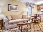 Wyndham Patriots Place Studio Living Room