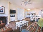 Oceanfront Long Beach Living Area