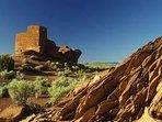 Indian ruins.