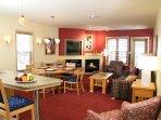Carriage Ridge Resort Suite Living Area.