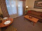 Carriage Ridge Resort Suite Living Area