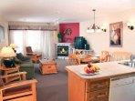 Carriage Ridge Resort Suite Kitchen.