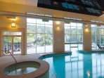 Wyndham Bentley Brook Indoor Pool View