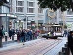San Francisco trolley stop