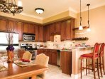 Vino Bella Living Area to Kitchen