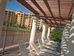 Wyndham bBonnet Creek Resort Deck