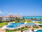 The beautiful Grand Caribe beachfront resort, featuring 5 pools, 2 jacuzzis and outstanding service.