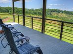 Relax on the Covered Deck off of the Master BR