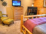 #5 Bedroom with Queen Bed & TV