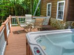 Another View of the Deck and Hot Tub