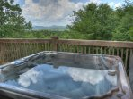 Incredible Views from the Deck and Hot Tub