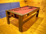 2-in-1 Game Table-Pool Table