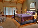 King Size Master Suite with Private Door to Decks