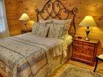 Private Queen Size Bedroom in Basement