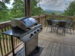 Enjoy Grilling Out on the Deck with these VIEWS!