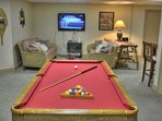 Family/Game Room on Lower Level