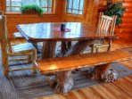 Hand Crafted Dining Table