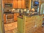 Modern Kitchen with Granite & SS Appliances