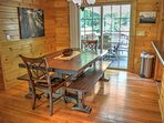 Handcrafted Dining Table for 6 guests