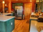 Spacious Kitchen with Gas Stove Top