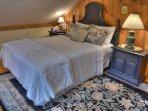 Queen Size Bedroom on Top Floor
