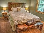 Queen Bedroom on Upper Floor