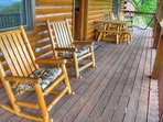 Back Covered Deck
