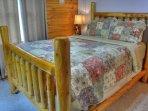 Queen Bedroom on Main Floor