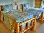 2 Twin Beds on Main Floor