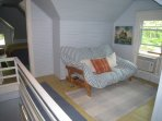 Finished 3rd floor with 2 bedrooms and sitting area (seen). Available at extra cost. Sleeps 6.