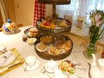 Traditional Afternoon Teas £15pp Ask when you book!
